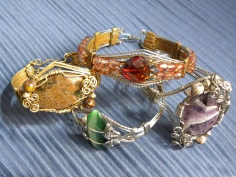 Grouping Of All Four Bracelets