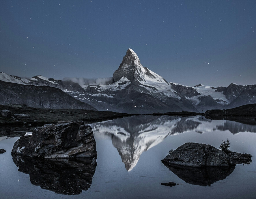 image of inspirational mountains
