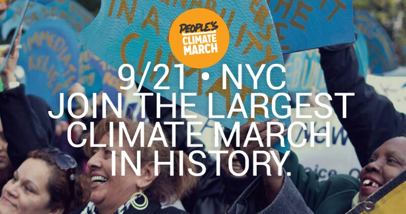 Peoples Climate March New York City