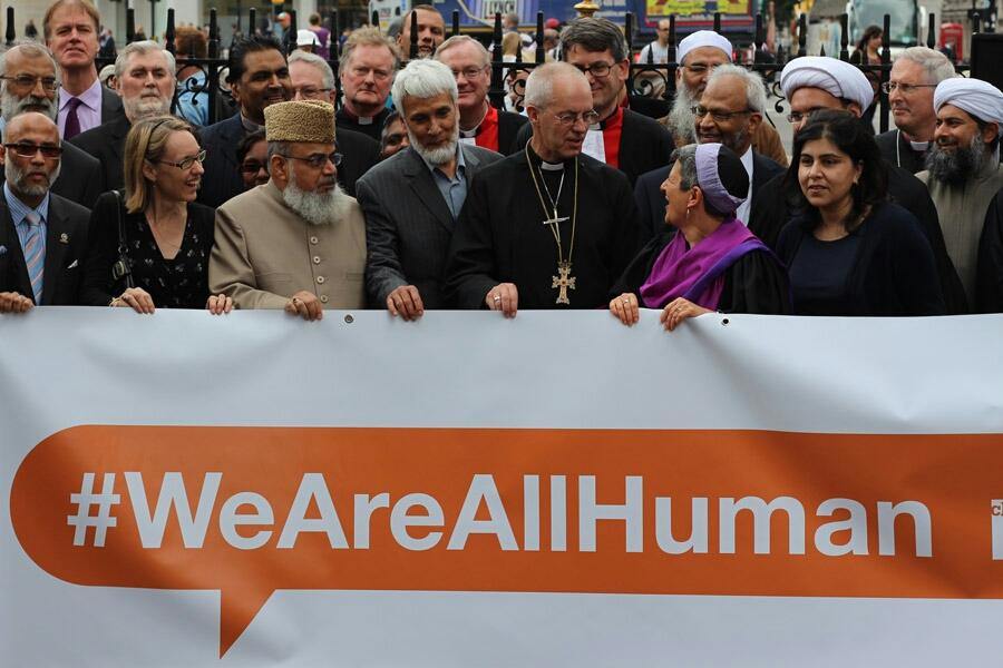 London interfaith peace prayer vigil