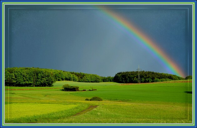 Irish rainbow blessing