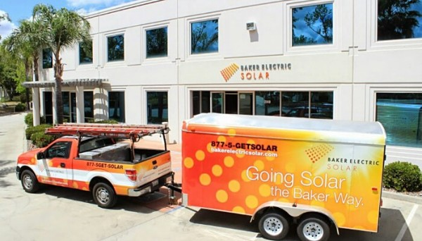 Baker Electric Solar  wins SunPower awards